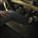 Stormy Revving Firetruck in Ankle Socks