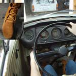 Paige Erin Turner Cranks Up & Revs the Bus in Knee High Moccasins