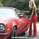 Brooke_crank_77camaro_tightleatherpatentpumps-pic