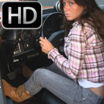 Bree Revving Up the Chevelle