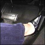 Vixen Cruising in the Coronet in Black Pumps, 1 of 2