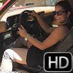 Brianna Starts Up & Revs the Camaro in OTK Boots