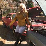 Brooke Starts, Revs & Jump Starts Some Cars, 1 of 3