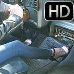 Star Pedal Pumping the Monte in Strappies & Bare Feet, 1 of 2