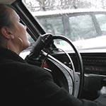 Tiffany Cranking the Volvo – #246