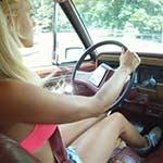 Brooke & Mari Driving the Jeep in Bikini's