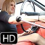 Raquel Derek Cranking the Volvo – #436