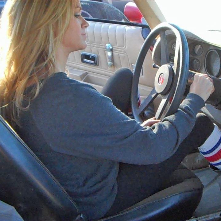 Reese Revving the Camaro – #385