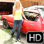 Brooke Cranking the Camaro – #502