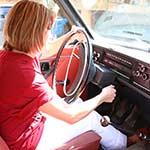 Kimberly Heart Cranking the Volvo – #448