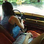Brooke & Mari Drive & Crank the Jeep in Cowgirl Boots