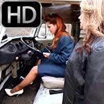 Tracy & Vivian Business Suit & White Pumps PTP Shuffle