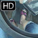 Raquel Derek Adidas Sandals Pedal Pumping Fun, 4 of 4