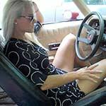 Brooke Revving the 77 Camaro – #606