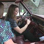 Mandie & Tinsley Cranking the Jeep – #372
