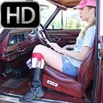 Cassandra Revving the Jeep – #491