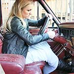 Tyler Grace Kills the Jeep Battery in Thigh High Boots