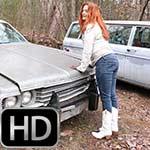 Vivian Ireene Pierce White Frye Boots Cold Starts
