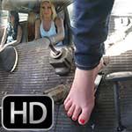 Cherry Driving the Bus Barefoot with Dakota – #706