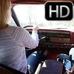 Cherry Morgan & Dakota Charms Gas Run in the Jeep