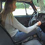 Anna Komis First Time Cranking the Bug in Keds