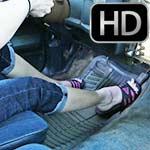 Raquel Derek Cranking in Adidas Sandals & Barefoot – #445