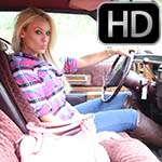 Brooke Revving the Couple Deville in Brown OTK Boots