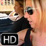 Cassandra & Samantha Cranking the Monte in High Heels