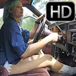 Jane Domino Takes the Caddy Out in White Frye Boots, 1 of 4
