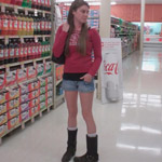 Kristen Drives & Revs the Monte Carlo in Socks & Boots, #201