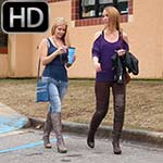 Anabelle Pync & Cassandra Stranded at School, 1 of 2