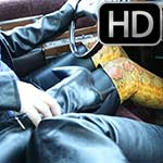 Fallonn & Vivian Take the Caddy for a Spin in Boots & Leather