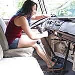 Dakota Charms Cranking the Bus in Clogs – #765