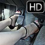 Vivian Ireene Pierce Cranks & Drives in LBD & Sexy Stilettos, 1 of 2