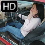 Laney & Vivian Start Up the Cars in Loafers – 1 of 2