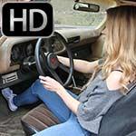 Rebecca Cranking the Camaro, Custom 845 – 1st Attempt
