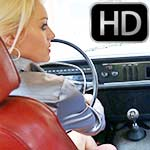 Brooke Cranking the Volvo with Aunt Jane – Custom 971 Extra