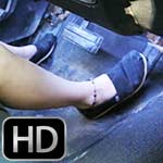 Dakota Charms Drains the Battery in the Coronet Wearing Toms