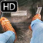 Jane Domino Cranks the Coronet in Strappy Sandals (self-filmed)
