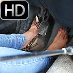 Vassanta Cranks Up the Volvo & Breaks the Pedal Heels & Barefoot