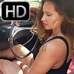 Jane Domino Red & Black Snakeskin Pumps Volvo Revving