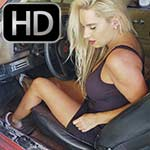 Jewels Loves Cranking Old Cars