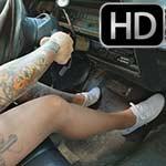 Dirty Diana Custom 901 Shenanigans in Keds & Nylons