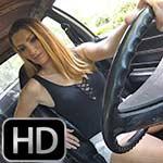 Sasha Lux Long Legs Crank & Rev the Coronet Barefoot