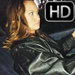 Jane Domino Evening Cranking in 80's Leather Jacket & Boots