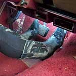 Mandie Stalled & Stuck in the Jeep in Cowgirl Boots, 1 of 2