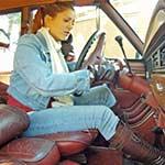 Vivian Ireene Pierce Can't Start Jeep to Go to Work