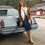 Vivian Ireene Pierce Gas Runs in Tan Leather Boots, 1 of 5