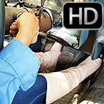 Britney Crankin' Car Shufflin' in Flat Tan Boots