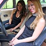 Cassandra & Tinsley Rev the '77 Z28 in Boots